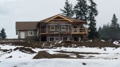 First #Home being #built on Green Emerald Estates (Lot 15) #GreenEmeralEstates  #GreenEmeraldInc  #SalmonArmViewLots  #BCBuildingLots  #LotsForSale  #BuildingLotsForSale #ViewLots  #DreamHome #CustomHomes #SalmonArm #Shuswap  www.greenemeraldinc.com Lots For Sale, Emerald Green, Dream Homes, Custom Homes, Salmon, Arm, Cabin, House Styles, Building