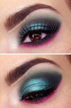 Do you like this stylish makeup?