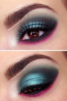 Do you like this stylish makeup?