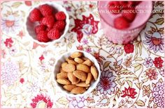 Healthy and Yummy Raspberry Nut Smoothie