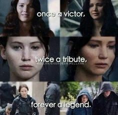 Once a victor Twice a tribute Forever a legend