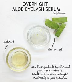 5 Ingredients to Add to Your Shampoo For Fast Hair Growth - Nedette Eyebrow Serum, Eyelash Serum, Eyelash Growth, Aloe Vera For Skin, Aloe Vera Gel, Castor Oil Eyebrows, Aloe Vera Hair Growth, Pure Castor Oil, Beautiful Eyelashes