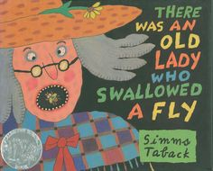 There Was an Old Lady Who Swallowed a Fly, 1998 Honor | Association for Library Service to Children (ALSC)