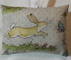 Rabbit Gift / Rabbit Fabric Lavender Bag / Guess How Much I Love You / Easter
