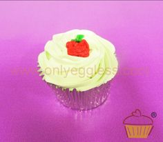 C951 - Toffee Apple Cupcake - Premium Cupcakes - Egg free cakes from Only Eggless