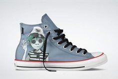 Converse x Gorillaz Chuck Taylor Fall 2012 Sneaker Collection