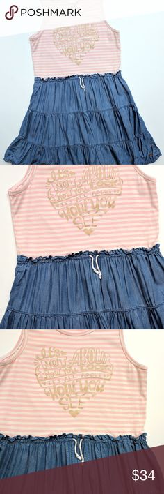 Matilda Jane Hello Lovely Chic & Chambray Dress 12 Matilda Jane Hello Lovely Chic and Chambray Dress Tween 435   Size: 12  EUC My items come from a smoke-free household, we do have a kitty, so an occasional hair may occur! Matilda Jane Dresses Casual