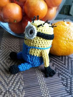 Etsy の Despicable Me Crocheted Minion Toy by BHCrochet