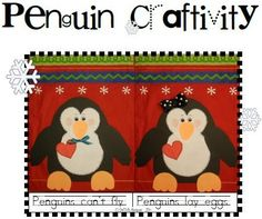 First Grade Fever!: It's Time to Party With the Penguins! & a Freebie!