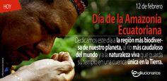 """En 1980 y por Registro Oficial, en el Ecuador la denominación de """"Región Oriental"""" cambió por la de """"Región Amazónica"""". El 12 de febrero, en honor a la fecha de descurbimiento del río Amazonas en 1542, se celebra el Día de la Amazonía Ecuatoriana."""