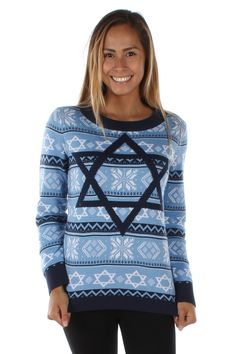 The Night Before Movie Ugly Hanukkah Sweater: Women's
