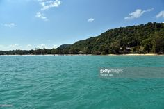 Landscape jetty on arrival of Koh Rong Samloem island, Cambodia, Asia.  #getty #gettyimages #purchase #moment #rf #photo #photograph #photography #koh #rong #kohrong