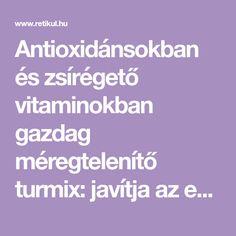 Antioxidánsokban és zsírégető vitaminokban gazdag méregtelenítő turmix: javítja az emésztést, ragyogóvá varázsolja a bőrt, és a súlyvesztésben is segít. Smoothie, Smoothies
