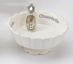 Candy Dish - Chocoholic By Mud Pie