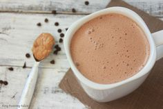 Thick and creamy hot chocolate with a tasty addition of peanut butter! This mix…