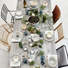 Set a gorgeous table for the summer get-together. Lene Bjerre SS17 Collection. Spring/Summer 2017.