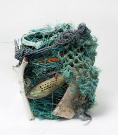 Contemporary Basketry: Ghost Net Baskets