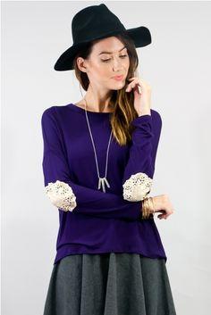 Love that deep purple.