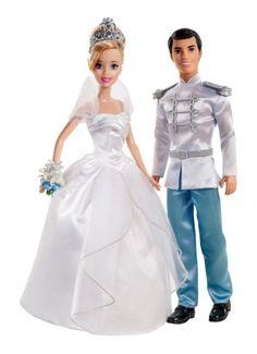 Disney Princess Toys - Cinderella Fairytale Wedding Doll Giftset at ToyStop - purchased Disney Princess Doll Set, Cinderella Prince, Cinderella Doll, Cinderella And Prince Charming, Disney Dolls, Disney Princesses, Ariel Disney, Barbie Dolls, Cinderella Costume