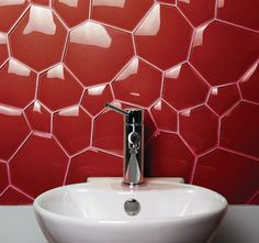 Watercube Glass Tiles by Evit