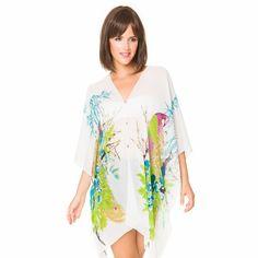3d08f87d85678 MELIFLUOS DESIGNED IN SPAIN Cover ups for Swimwear Women Summer Sunburn  Protection Beach Wear Swimsuit Dress