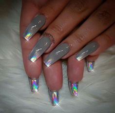 Hey there lovers of nail art! In this post we are going to share with you some Magnificent Nail Art Designs that are going to catch your eye and that you will want to copy for sure. Nail art is gaining more… Read more › Fabulous Nails, Gorgeous Nails, Fancy Nails, Trendy Nails, Hot Nails, Hair And Nails, Crome Nails, Nagel Gel, Creative Nails