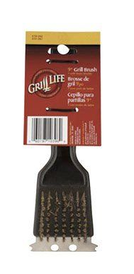 Grill Life Grill Brush 9 by Ace. $1.16. Grill Life Grill Brush 9 Thick Stainless Steel Bristles Stainless Steel Scraper Angles For Comfortable Grip Black Plastic Handle Discovery Acc, Con, Nbr, Sup, Hwu All items sold new in original packaging. Save 70% Off!