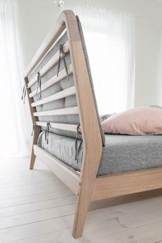 Betten aus Holz, Wooden Bed, oiled wood, Berlin, B1 - Bed - Loft Kolasiński