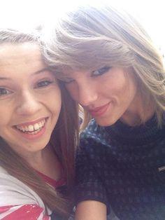 Taylor with a fan in London!