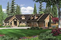 For when I win the lottery, love this house...House Plan 48-517