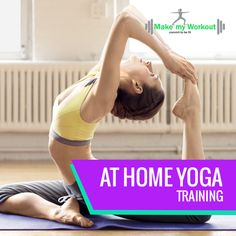 We also do At Home Yoga! Call Make My Workout now for more details