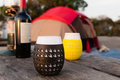 Check Out These Classy Portable Wine Glasses (As Seen On 'Shark Tank')