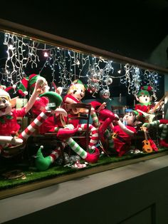 """MORTIMER HIRST EYEWEAR, Auckland, New Zealand, """"The Christmas Elves Sing-A-Long"""", created by Ton van der Veer"""