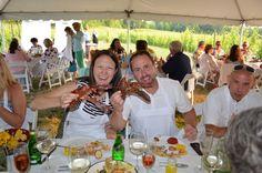 Wine Dinner: Dining in the Vines - Lobster Edition! 7/19/2014 www.bowersharbor.com facebook.com/bowersharborvineyards