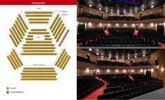 Theater de Tamboer. De grote zaal (Univé Zaal, 780 zitplaatsen) met haar enorme toneel en toneeltoren kan grootschalige producties brengen die niet in elk ander theater passen. De kleine zaal (Passagezaal, eigenlijk midden-zaal, 465 zitplaatsen) is eveneens volledig geoutilleerd en geschikt voor theater- en evenementenproducties.  Hoogeveen.