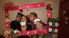 Christmas selfie frame diy