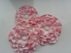 large pink white fondant flowers by lizzies_cakes lizzies cupcakes lizziescakeshop, via Flickr