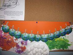 Creation Unit for preschoolers - Lots of cute ideas!