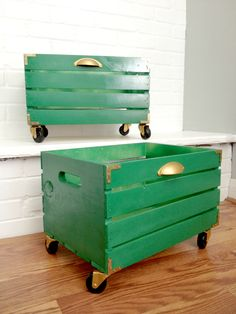 The Great Crate Challenge – Campaign Style Wood Crate |