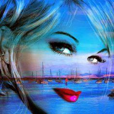 Angie Braun, 1961 ~ Blue Eyes..