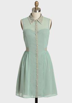 Secret To Keep Embellished Dress at Ruche Vintage Outfits, Vintage Dresses, Vintage Fashion, Modern Vintage Dress, Vintage Mode, Teen Fashion, Fashion Outfits, Sweet Dress, Embellished Dress