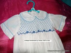 boys smocked romper 1920 design recreated by cutiepye australia been smocking for 33 years 0427820744 for sale $100