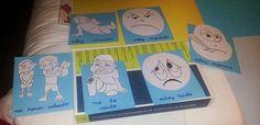 Pictogramas para expresar las emociones en clase.
