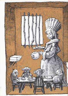 The Art of Children's Picture Books: Christina Katerina and The Box, Doris Burn