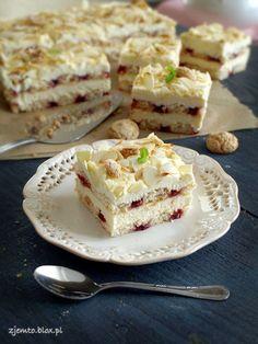 """Ciasto """"Malakoff"""" - bez pieczenia"""