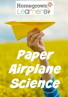 Making paper airplanes is one of the most fun activities in our homeschool.  And, it is an activity where there is a TON of learning taking place, so  the fun is an extra bonus!  It ranks right up there with the day we made magnetic slime!  I'm not exactly sure what it is about folding a piece