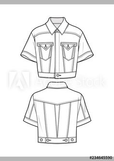 OUTER Fashion technical drawings flat Sketches vector template Buy this stock vector and explore similar vectors at Adobe Stock - Sketch Templates - Ideas of Sketch Templates - OUTER Fashion technical drawings flat Sketches vector template Flat Drawings, Flat Sketches, Technical Drawings, Fashion Design Portfolio, Fashion Design Drawings, Drawing Fashion, Fashion Illustration Sketches, Fashion Sketches, Design Illustrations