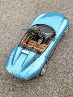 Alfa Romeo Disco Volante Spider la maravilla de Touring Superleggera para el Salón de Ginebra