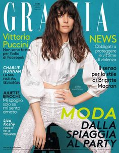 Vittoria Puccini for Grazia Italia 21 June 2017 Cover