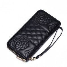f4f04e3553ab2 Galanteria Skórzana Dla Każdego - torebki, portfele, plecaki, walizki  Sprawdź! NUCELLE designerski portfel damski Czarny
